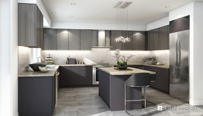 Pavilia Towers Kitchen