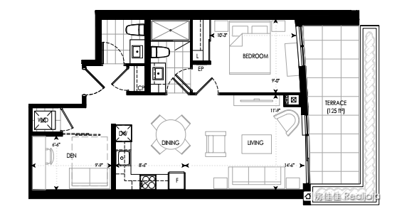 Pavilia Towers Floor Plan 2